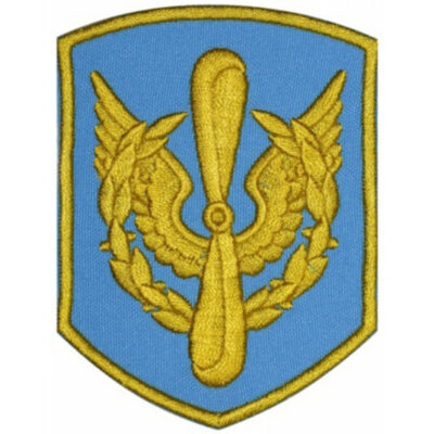 Russian Military Air Force Emblem Embroidered Sleeve Patch