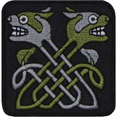 Embroidered Celtic Sew-on / Iron-on / Velcro Knot gift patch