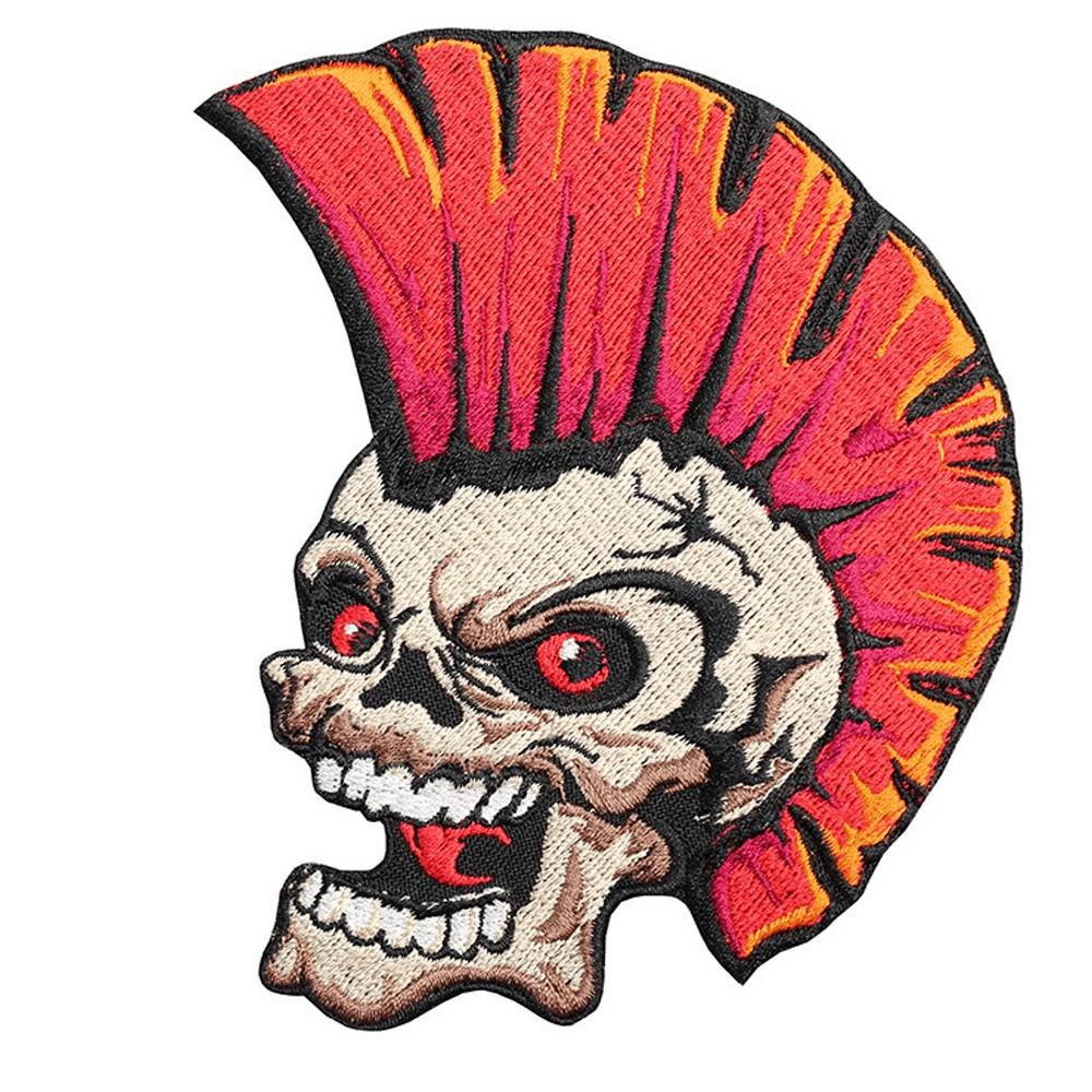 Rockabilly Mohawk Punk Skul