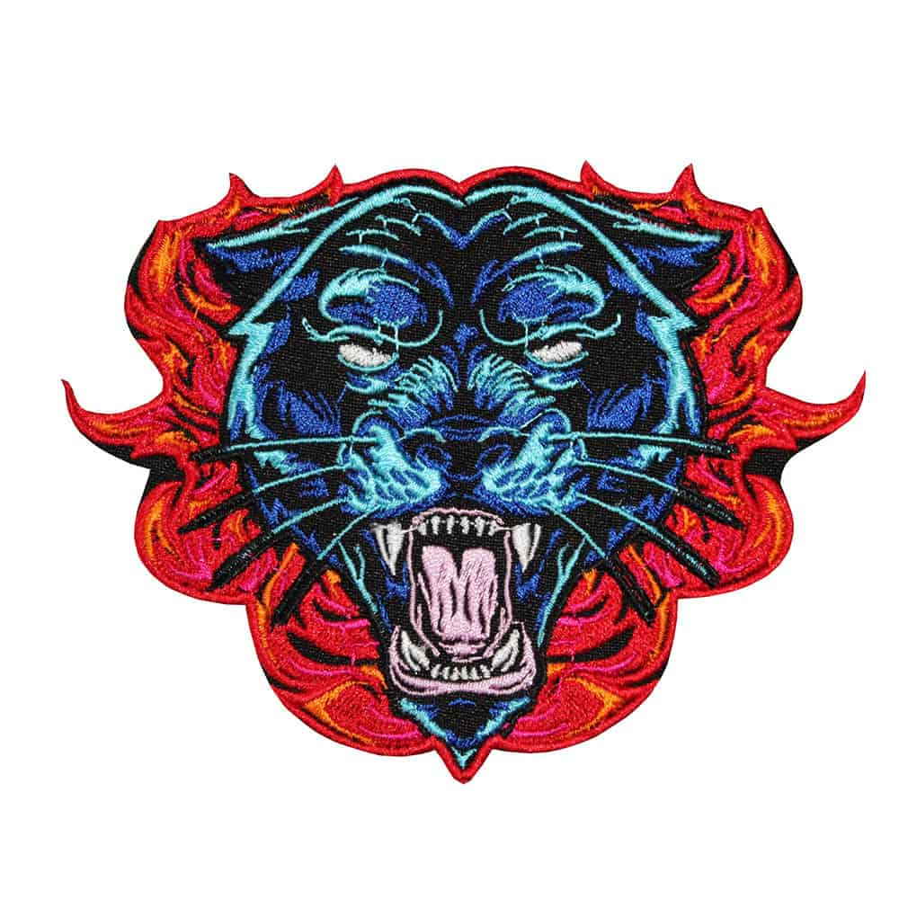 Roaring Fire Panther Patch