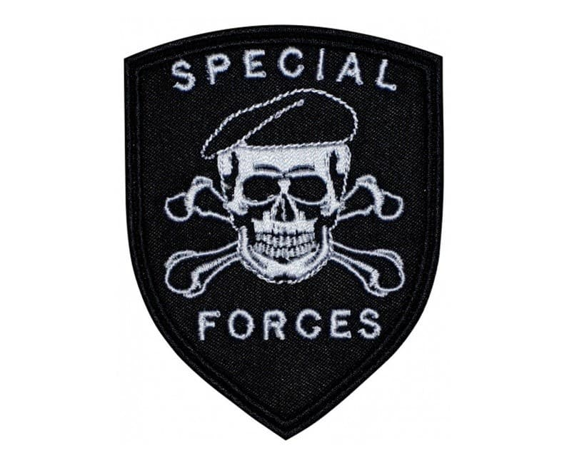 Special Forces Skull in Beret