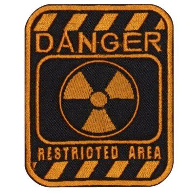 Airsoft Sign Danger