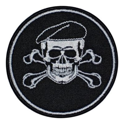 Airsoft Skull In A Beret