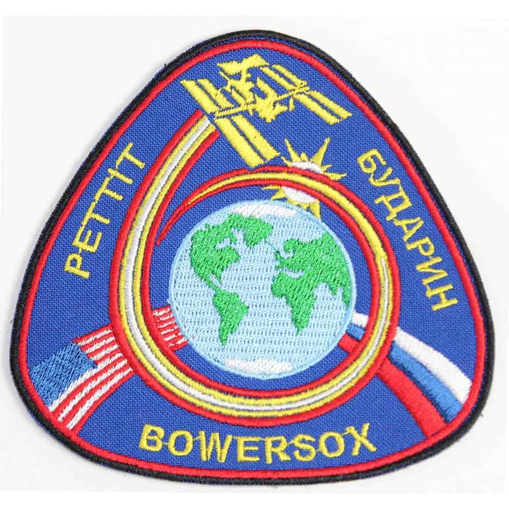 ISS Expedition 6 Space Mission Embroidered Sew-on / Iron-on / Velcro Sleeve Patch