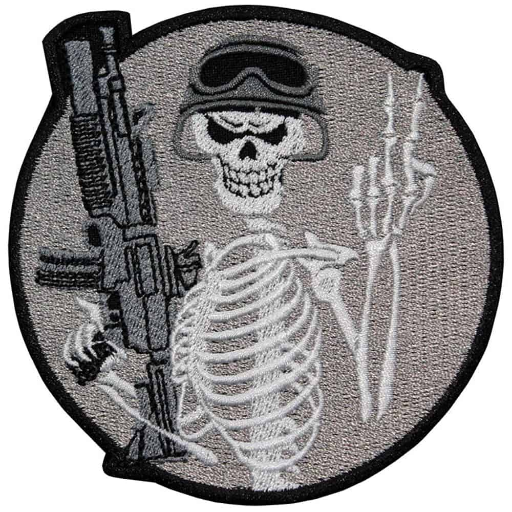 Special Forces Spetsnaz Airsoft Logo Embroidered Sew-on / Iron-on / Velcro Patch