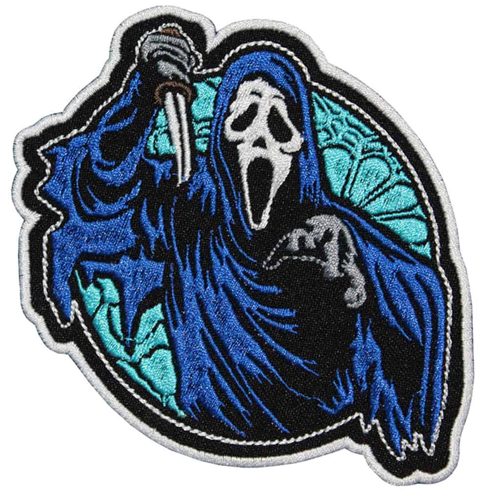 Scream Movie Game DBD Embroidered Sew-on / Iron-on / Velcro Patch 2