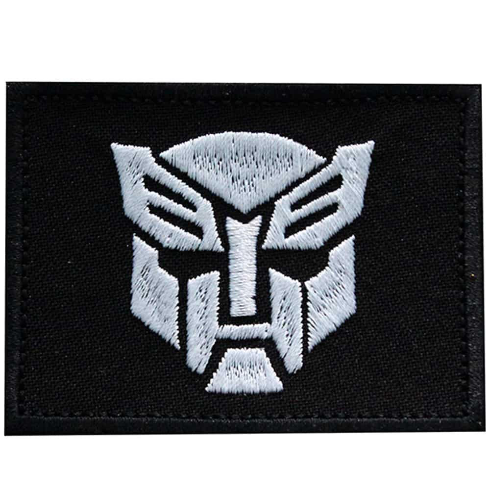Transformers Emblem Autobots Embroidered Sew-on / Iron-on / Velcro Patch