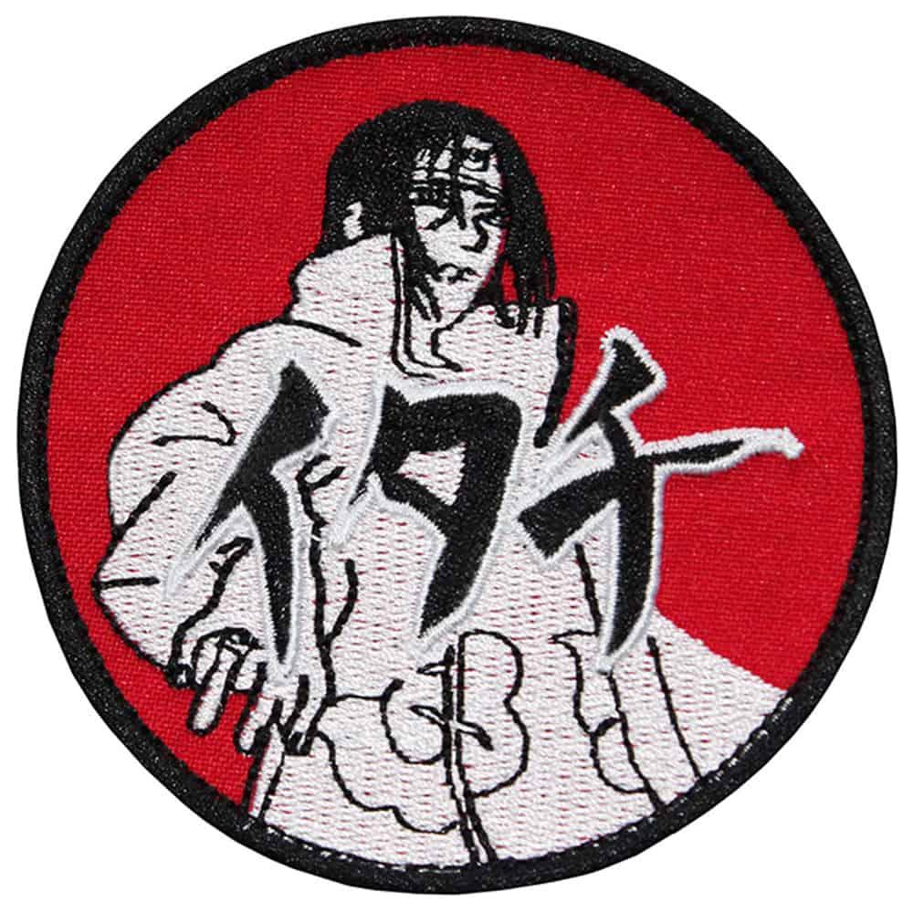 Uchiha Itachi Anime Naruto Embroidered Sew-on / Iron-on / Velcro Patch
