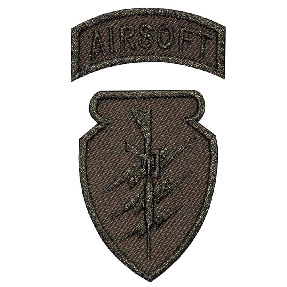 Airsoft Rifle Embroidered