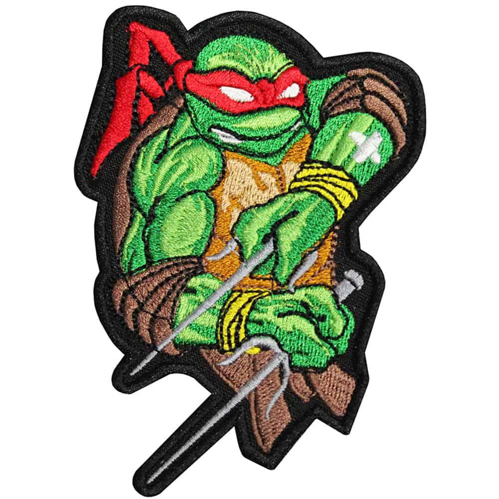 Teenage Mutant Ninja Turtle Embroidered