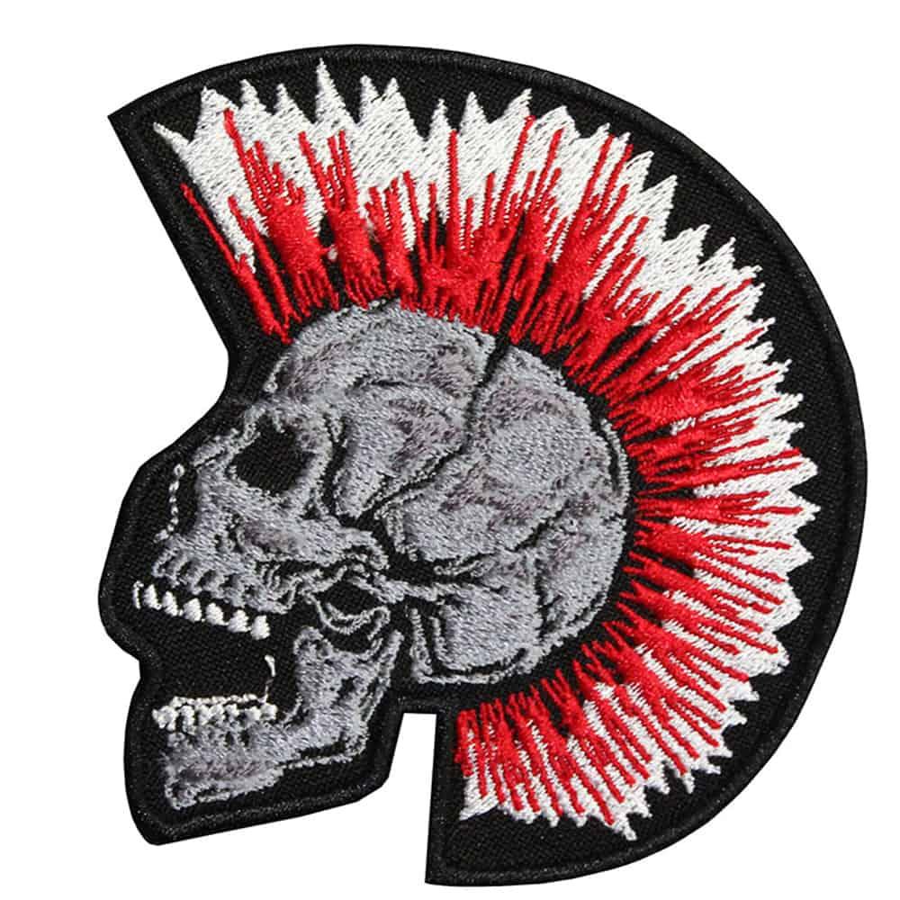 Halloween Skull PUNK