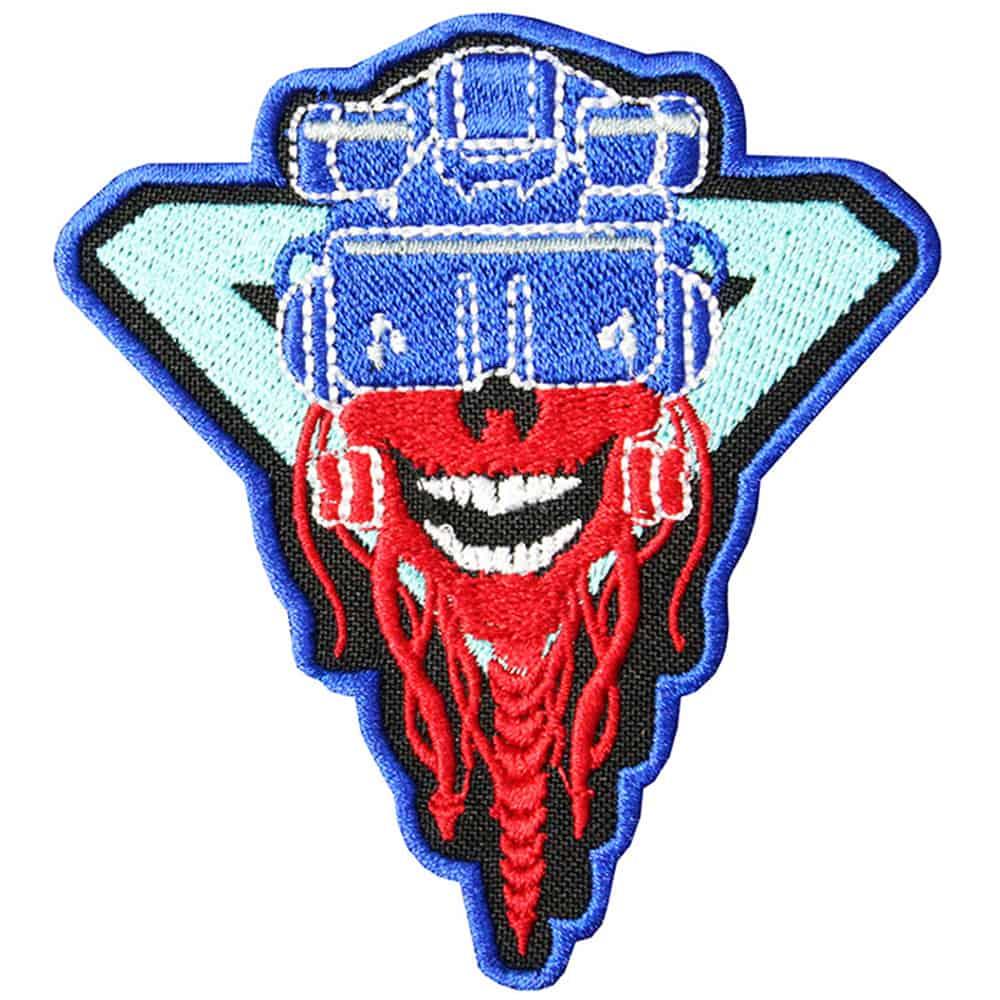 Cyberpunk 2077 Skull Embroidered