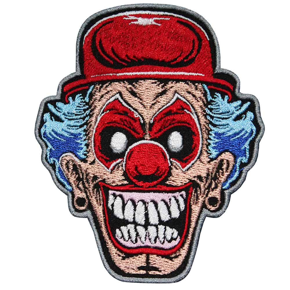 Twisted Metal Embroidered