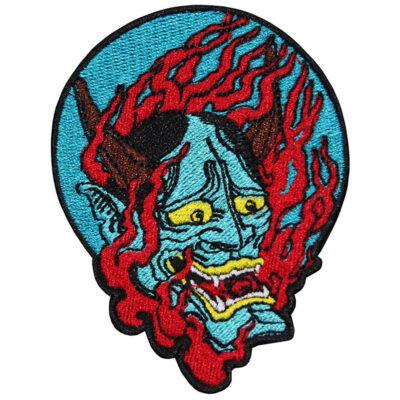Devil Oni Demon's Embroidered