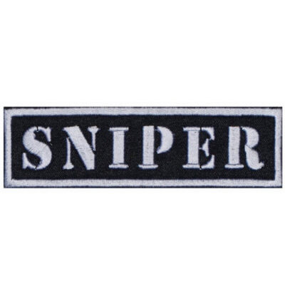 Sniper Strip military Embroidered Sew-on / Iron-on / Velcro Patch