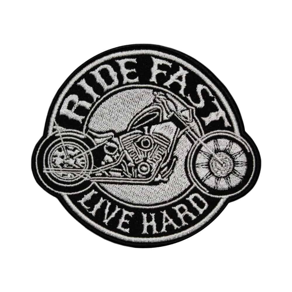 Bikers Ride Fast - Live Hard