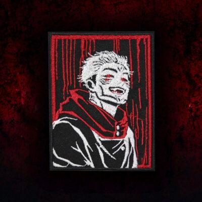 Jujutsu Kaisen Sukuna Anime Embroidered Sew-on/Iron-on/Velcro Patch