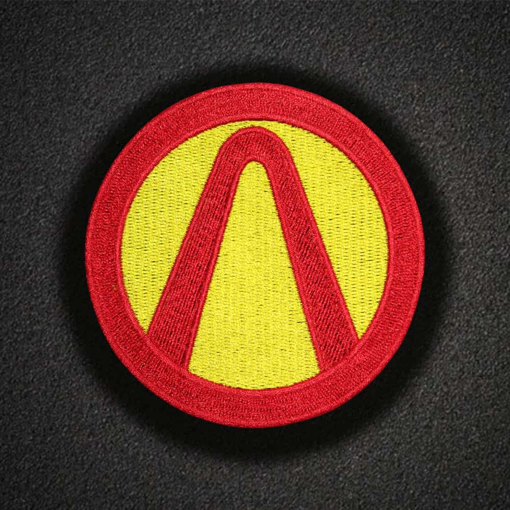 Borderlands Game Logo Embroidered Sew-on/ Iron-on/ Velcro Patch