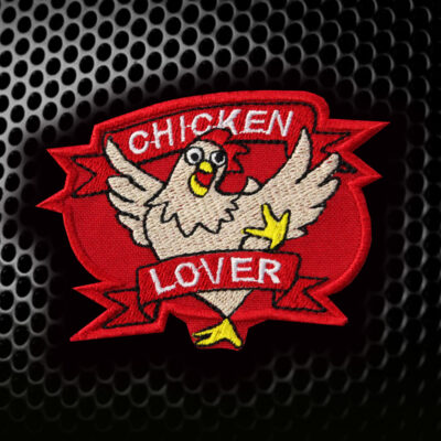 CS:GO Sticker Chicken Lover Embroidered Sew-on/Iron-on/Velcro Patch