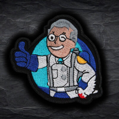 Team Fortress 2 Blue Medic embroidered patch Sew-on / Iron-on / Velcro TF2 gift