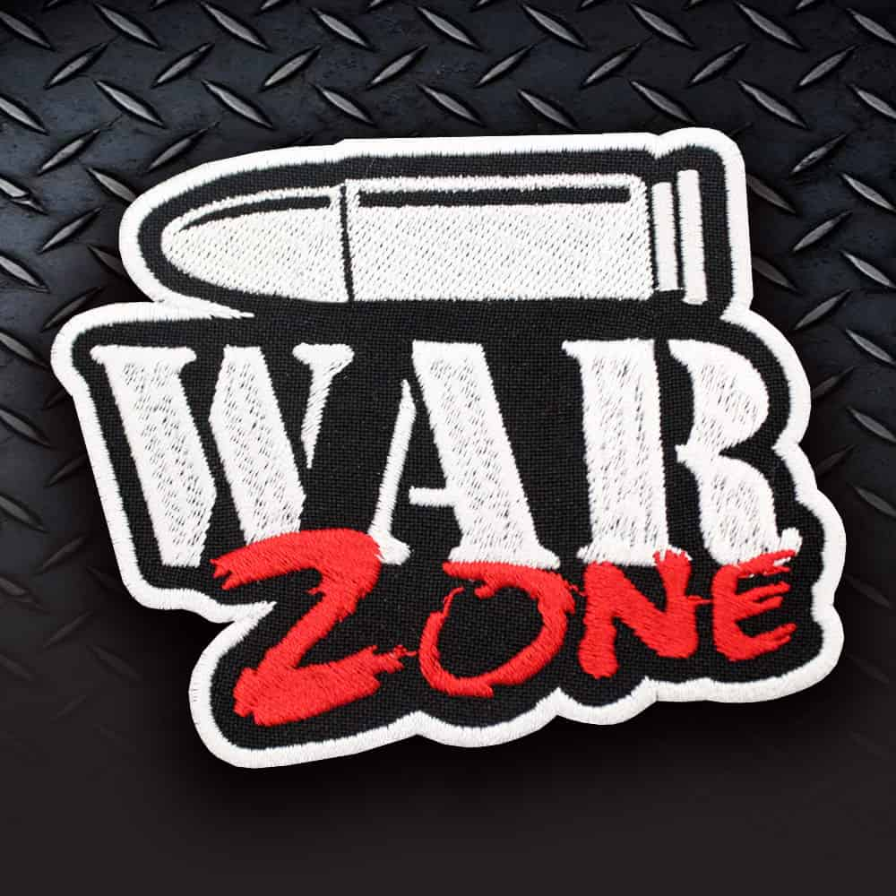 WarZone patch Call of Duty Game Embroidered Sew-on / Iron-on / Velcro patch Airsoft gift